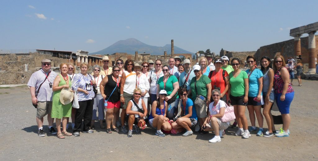 St. Elizabeth College student group through Italy & Greece.