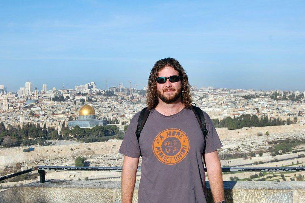 Jeremy Lawhorn, FTI's Vice President, in Jerusalem, Israel.