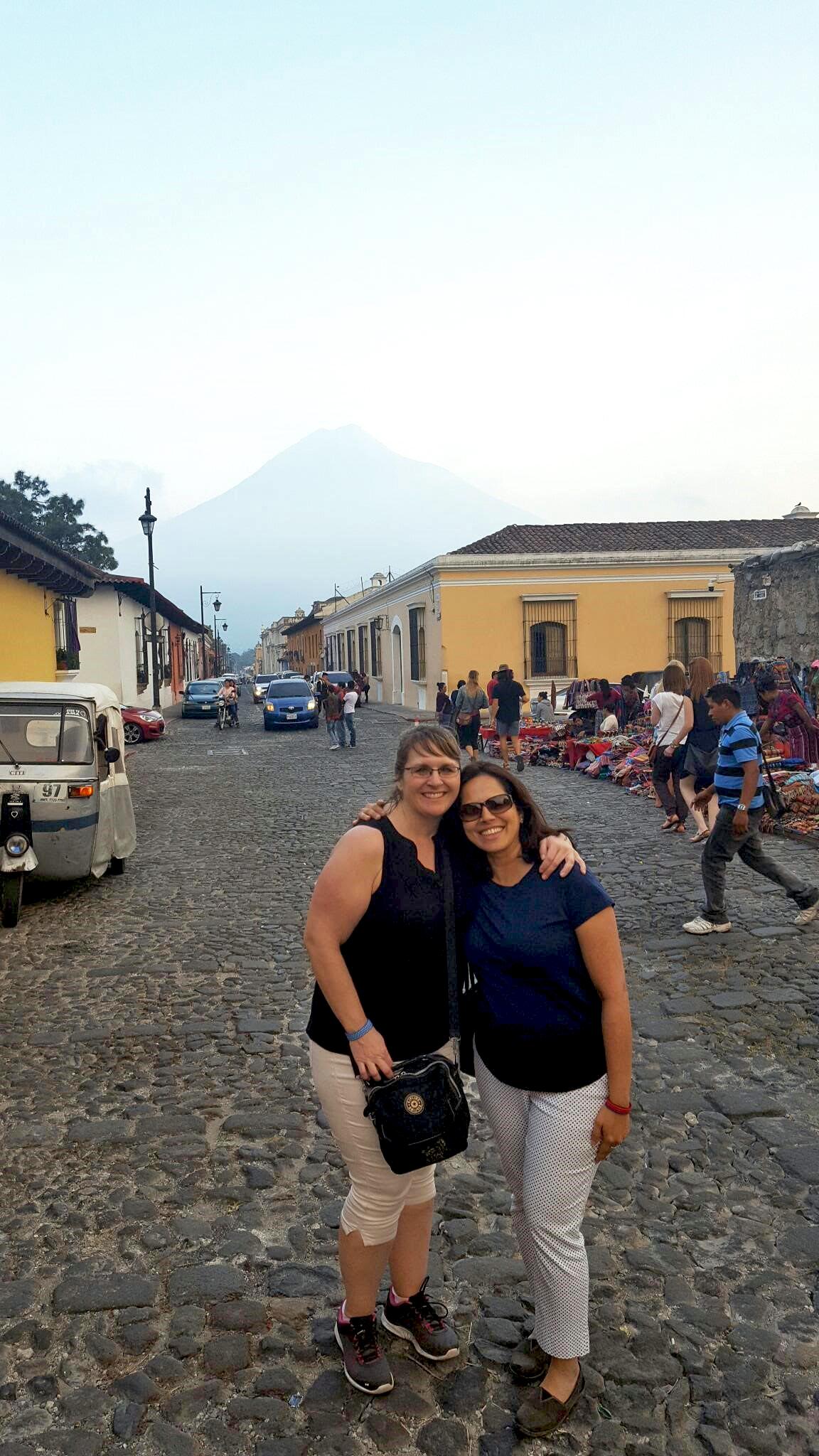 Jenny & Devi in Guatemala
