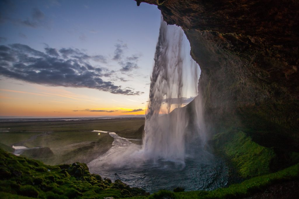 Seljalandsfoss Waterfall.