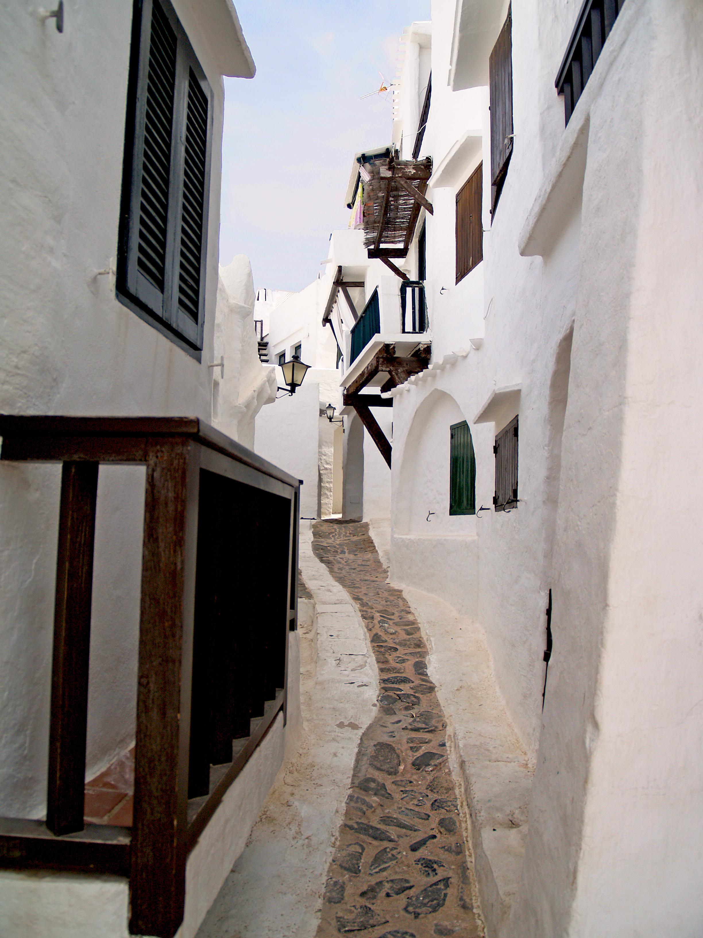 Street in Balearic Island