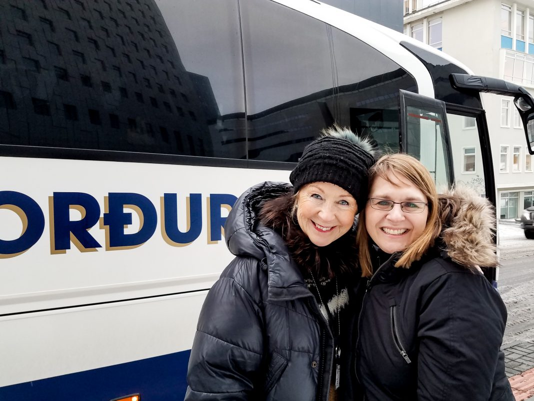 Jenny in Iceland