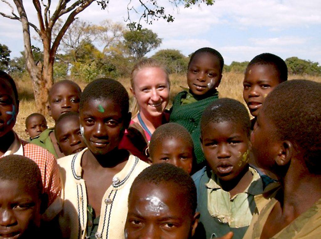Anna-Lisa in Zimbabwe
