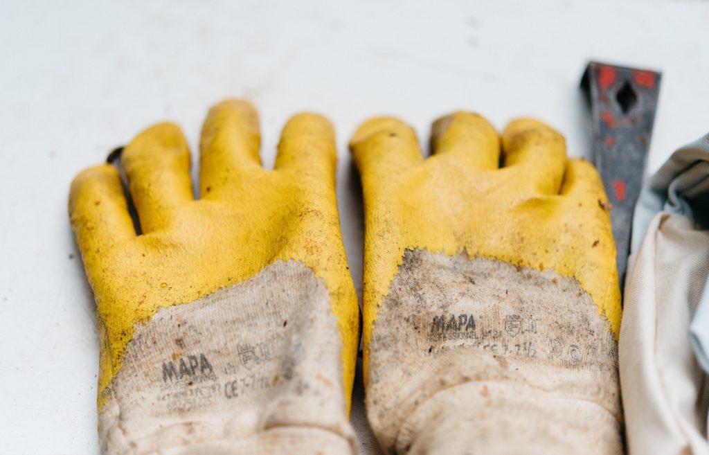 Garden gloves.