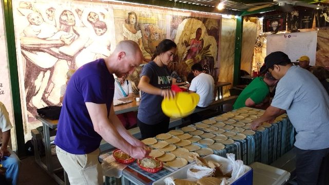 University of Scranton students service trip to the Kino Border Initiative in Mexico.