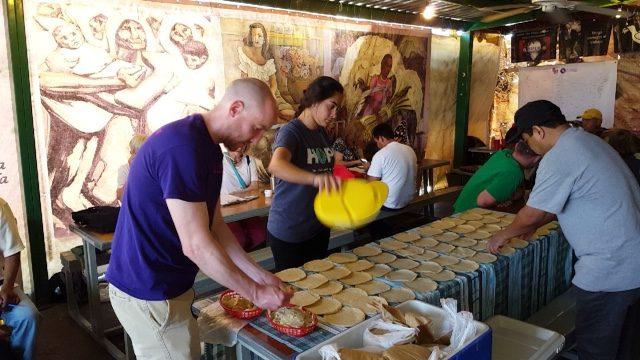 University of Scranton students service trip to the Kino Border Initiative in Mexico.