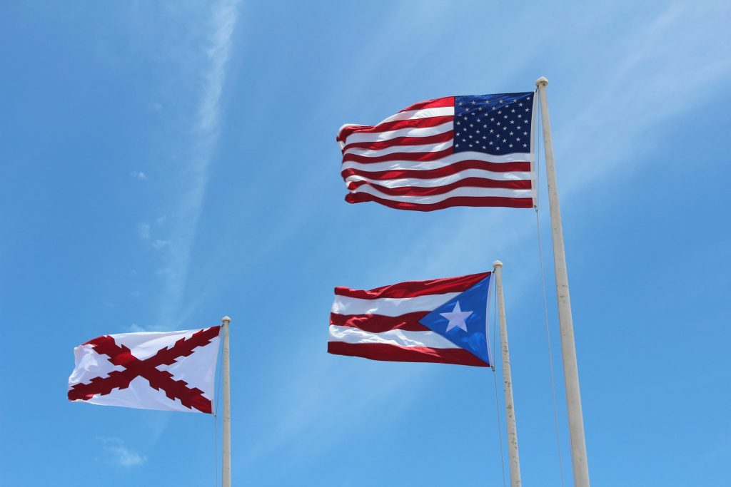 Puerto Rica has been a part of the US since 1898.