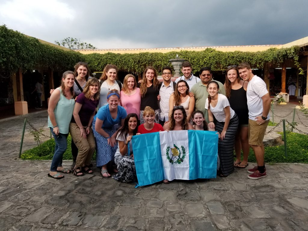 University of Scranton serving in Guatemala