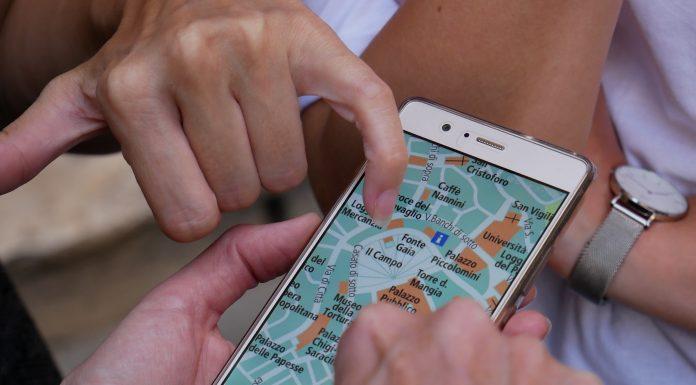 Travel App Map