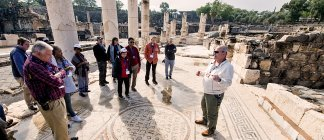 Group at Beit She'an