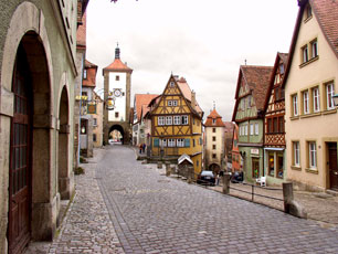 Germany - Rothenburg Street View