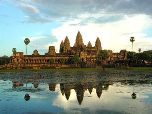 Cambodia - Angkor Wat in the Evening