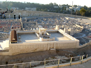 Jerusalem, Israel - Model of the Ancient City