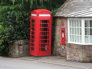 Scotland - Phone Box