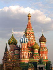 Moscow, Russia - St. Basil Cathedral