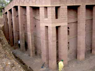 Ethiopia – Lalibela Church 2
