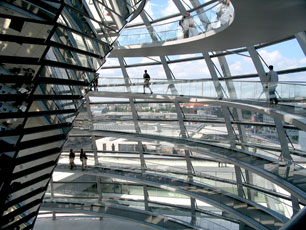 Berlin, Germany - Reichstag Dome