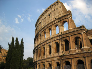 Rome, Italy - Colosseum by Day