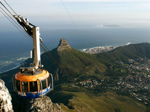 South Africa Table Mountain Cable Car