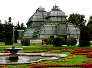 Vienna, Austria - The Palm House