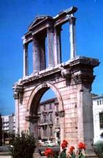 Arch of Hadrian - Greece