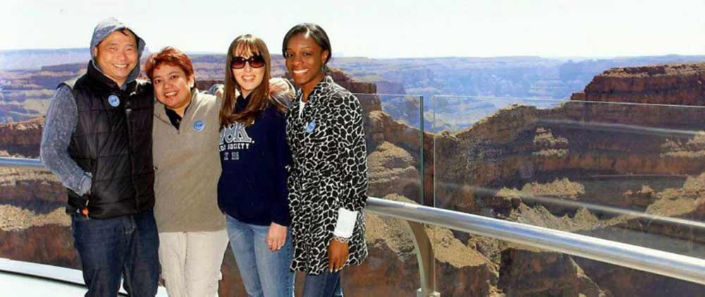 Fellowship Travel employees - Grand Canyon