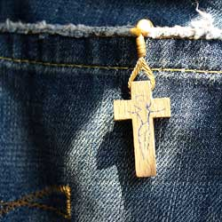 Spain jeans w rosary